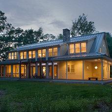 Farmhouse Exterior by Eugene Aleci