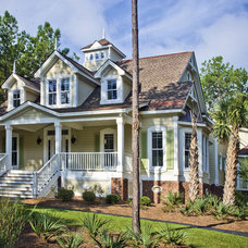 Traditional Exterior by Guidry-Coastal Architecture