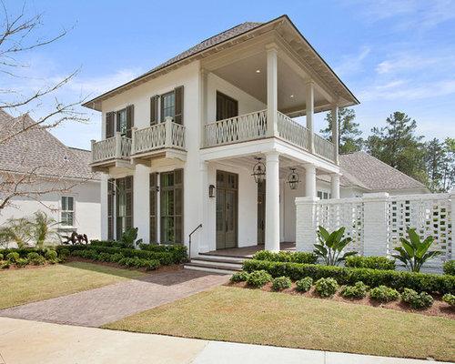 Houzz New Orleans Transom Windows Exterior Home Design