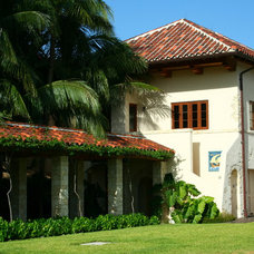 Mediterranean Exterior by Bell Landscape Architecture Inc.