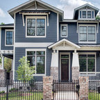 Porter Street Bungalow - Craftsman - Exterior - DC Metro - by Moore Architects, PC