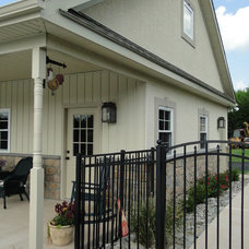 Traditional Exterior by Pugliese Brothers, Inc.