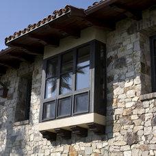 Mediterranean Exterior by James Glover Residential & Interior Design