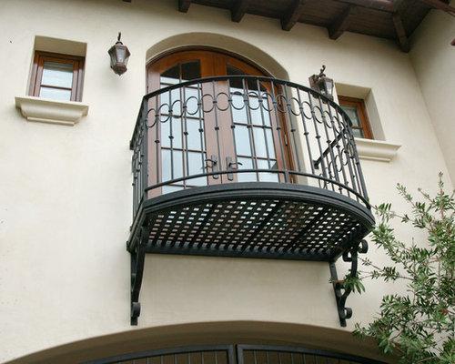 Wrought iron balcony houzz