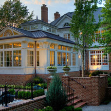 Traditional Exterior Colonial Conservatory