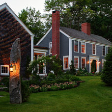 Farmhouse Exterior by Fine Lines Construction