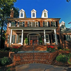 Traditional Exterior by HOUCK Residential Designers