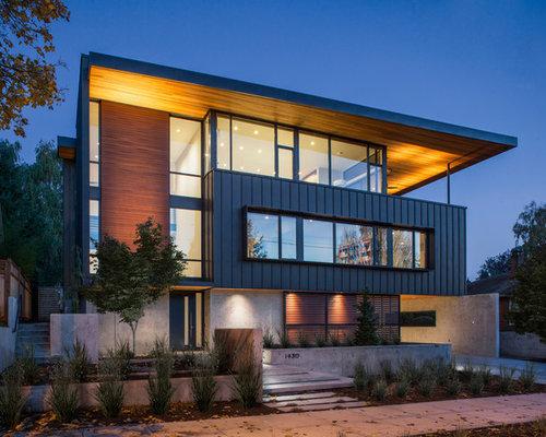 Contemporary colonial architecture home design ideas photos for Contemporary colonial architecture
