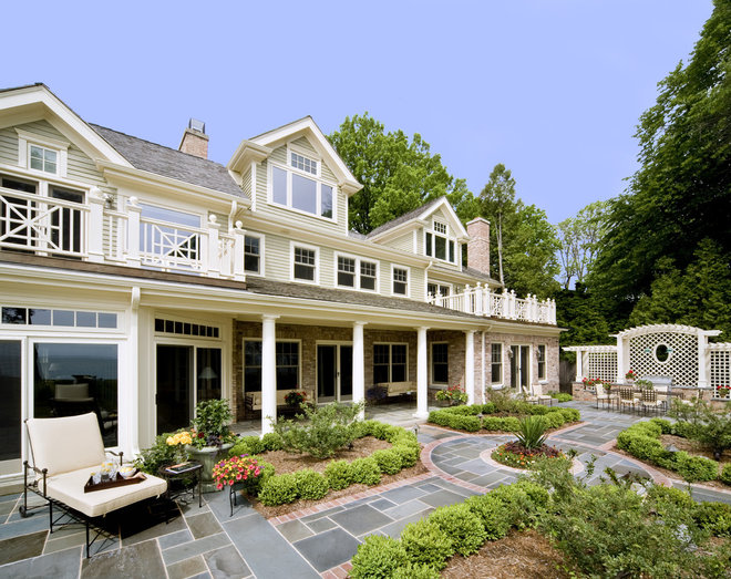 traditional exterior by Deep River Partners
