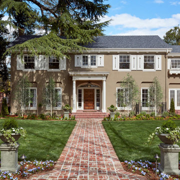 Colonial Revival Restoration + Addition