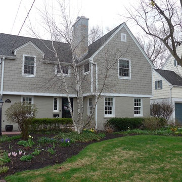 Colonial Style Home Evanston, IL in James Hardie Siding & Trim