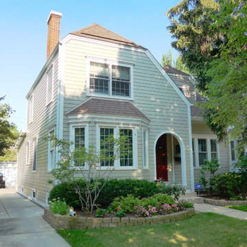 Colonial Style Home - Park Ridge, IL in James Hardie Siding & Trim