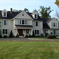 Traditional Exterior by Michael Hally Design, Inc