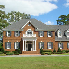 Traditional Exterior by Tipton Builders