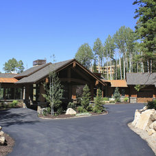 Rustic Exterior by Phillips Development