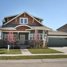 Traditional Exterior by Bungalow House Plans