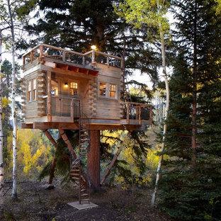 Inspiration för rustika trähus