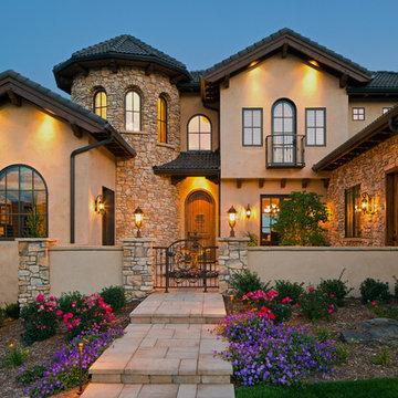 Colorado Tuscan Mountain Home