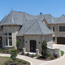 Mediterranean Exterior by Crown Roof Tiles