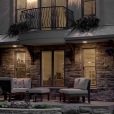 Traditional Exterior by Melton Design Build
