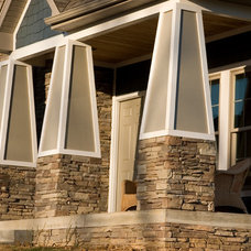 Traditional Exterior by Susan Rudd Designs
