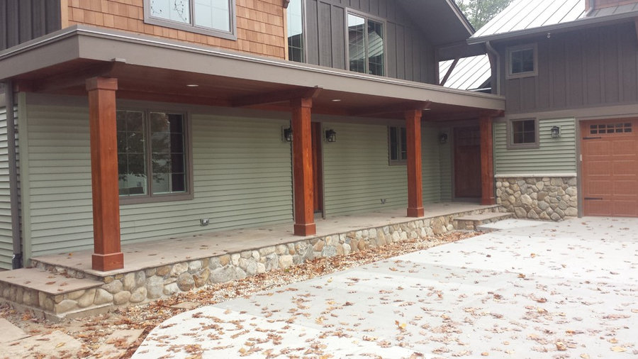 Complete Exterior and Interior Remodel Including Additions to the Home