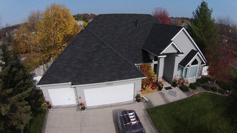 "Complete tear-off and reroof,Gorgeous GAF ""Designers Collection"" shingles instal"