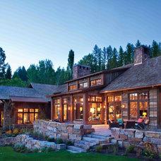 Rustic Exterior by Peninsula Building Materials