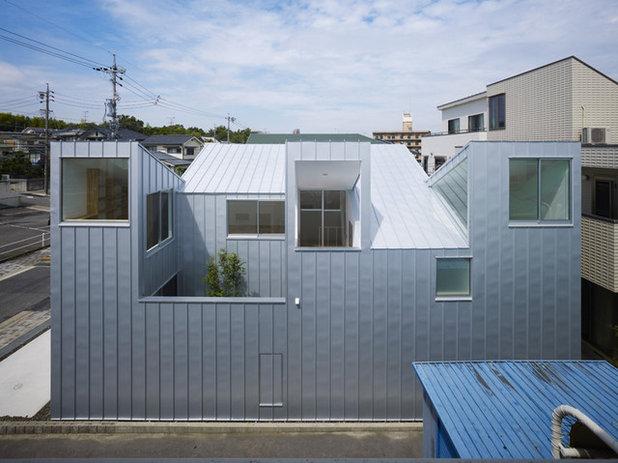 Модернизм Фасад дома by Tomohiro Hata Architects & Associates