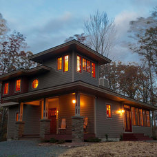 Craftsman Exterior by HUDSON DESIGN Architecture & Construction Mgmt