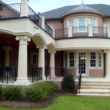 Traditional Exterior by Coral Cast Architectural Stone