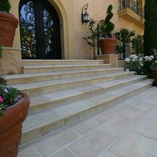 Mediterranean Exterior by Royal Stone & Tile