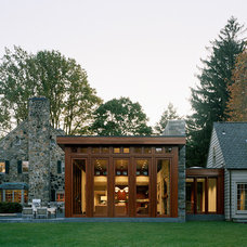 Traditional Exterior by Harry Elson Architect PC