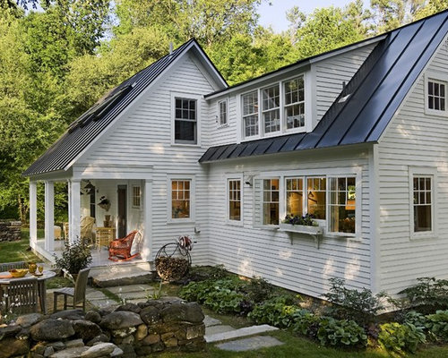 Metal roof house images