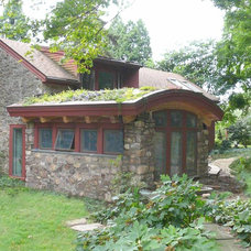 Traditional Exterior by e. jane wilson, architect