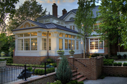 Traditional Exterior by Michael Matrka, Inc