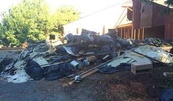 Construction site cleanup in Sonoma