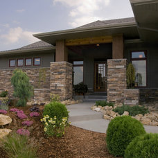 Contemporary Exterior by Jim Kuiken Design