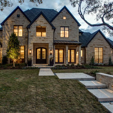 Transitional Exterior by Rosewood Custom Builders