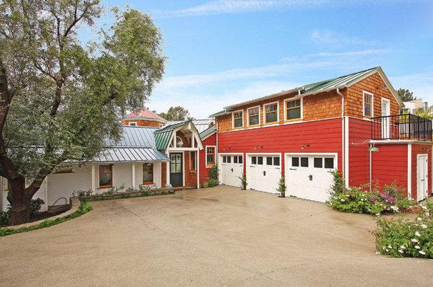 Farmhouse Exterior by Gus Duffy AIA