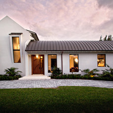 Transitional Exterior by Village Architects AIA, Inc.