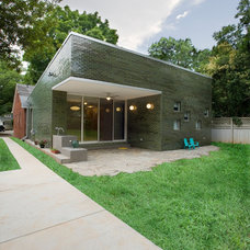 Contemporary Exterior by McMillan Builders