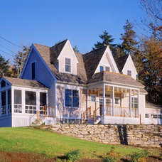 Traditional Exterior by John Cole Architect