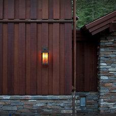 Contemporary Exterior by Hammerton Lighting