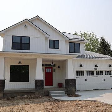 Contemporary Craftsman Home Build