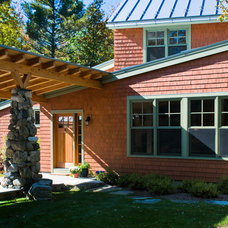 Traditional Exterior by Littlewolf Architecture