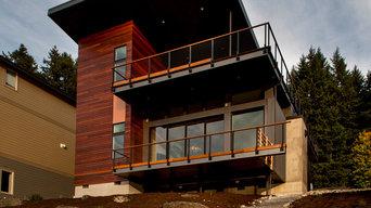 Contemporary custom home - Gig Harbor