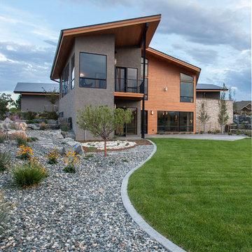 Contemporary Custom Home Mountain Views