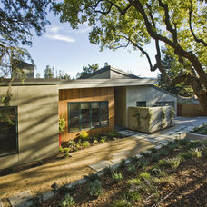 Contemporary Exterior by Darrough Construction Incorporated