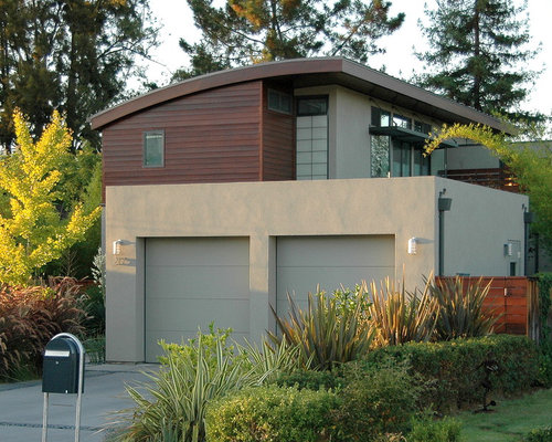 Stucco Garage Home Design Ideas Pictures Remodel And Decor